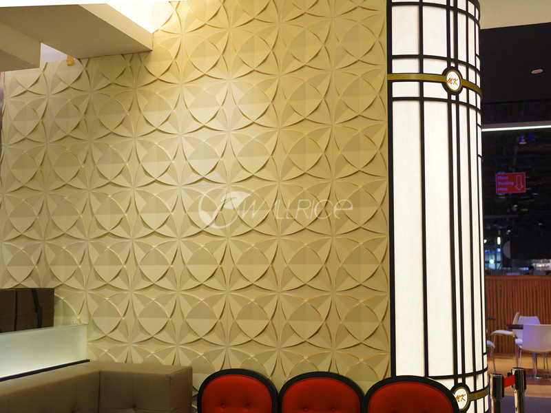 Decorative PVC 3D Ceiling / Wall Panel / Wallpaper