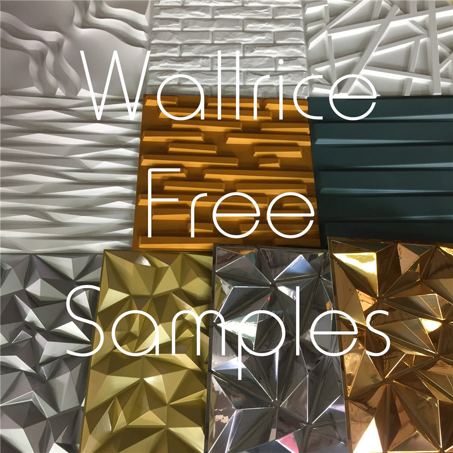 Wallrice Free 3D Wall Panel Samples