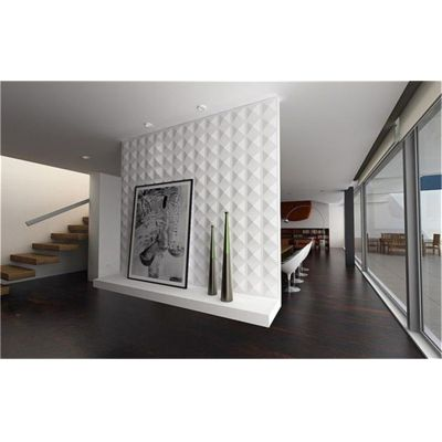 New design cheap prices home decorative interior 3D wall board pvc 3d wall panel