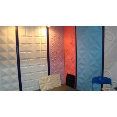 Wall decoration Eco-friendly Price pvc 3d wall panel
