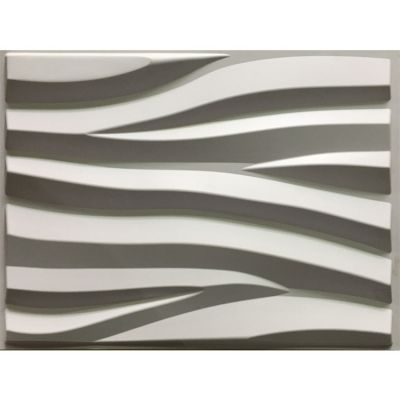 Big Size PVC 3D Wall Panel Surge 625*800MM